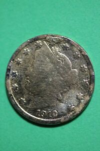 1910 LIBERTY V DUMB RACKATEER NICKEL EXACT COIN SHOWN COMBINED SHIPPING OCE 57