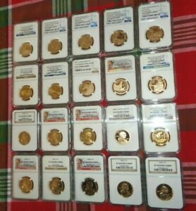 Click now to see the BUY IT NOW Price! 20 PIECE SACAGAWEA PROOF COIN SET NGC PF 70 ULTRA CAMEO W/ SP 70 ENHANCED FINISH