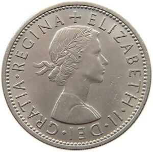 GREAT BRITAIN TWO SHILLINGS 1962 S39 271