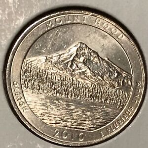 2010 D MOUNT HOOD WASHINGTON QUARTER