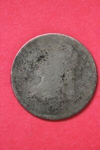 1835?? CAPPED BUST DIME SILVER COIN EXACT COIN SHOWN LOW GRADE COIN OCE 43