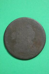 DATELESS DRAPED BUST LARGE CENT LOW GRADE EXACT COIN SHOWN FLAT RATE SHIP OCE 53