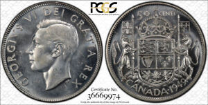 1949 ND FIFTY CENTS 50 PCGS MS 64   STRONG LUSTER & SHINNY