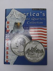 AMERICA'S STATE QUARTER COLLECTION NEW JERSEY  1999  VOLUME 1 NUMBER 3