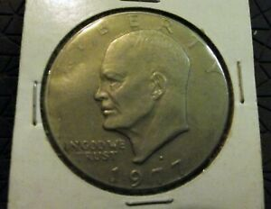 ONE DOLLAR USA 1977D  EISENHOWER