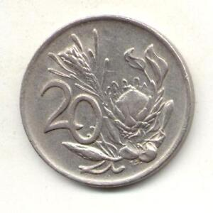 SOUTH AFRICA 20 CENTS 1978