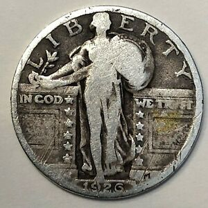 1926 STANDING LIBERTY QUARTER       FREE COMBINED SHIPPING