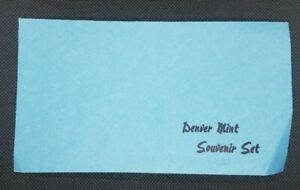 1983 DENVER SOUVENIR MINT SET ORIGINAL REPLACEMENT ENVELOPE | NO COINS