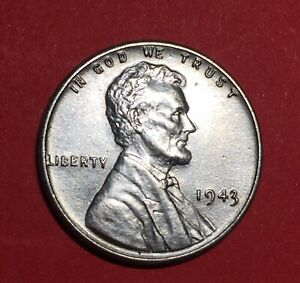 1943 P LINCOLN WHEAT   US STEEL PENNY