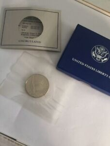1986 UNITED STATES LIBERTY COIN HALF DOLLAR UNCIRCULATED DENVER MINT