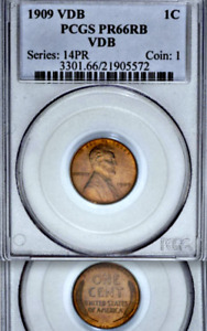 Click now to see the BUY IT NOW Price! 1909 VDB PCGS PR66 RB 420 MINTED  MATTE PROOF LINCOLN WHEAT CENT  LEGENDARY 1C