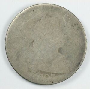 1807 DRAPED BUST EARLY SILVER QUARTER 25C