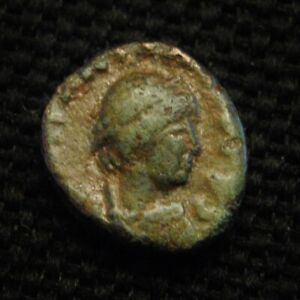 Click now to see the BUY IT NOW Price! NUMMUS EASTERN EMPEROR MARCIAN RV MONOGRAM OF MARCIANUS 0.96 GR 8 9MM AD 450 7
