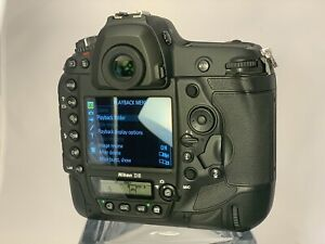 1 295 SHUTTER COUNT  NIKON D5 20.8MP DIGITAL SLR CAMERA WITH XQD SLOTS  READ