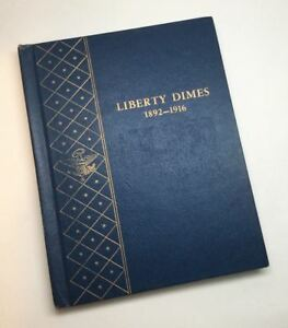 Click now to see the BUY IT NOW Price! 1892 1916 LIBERTY BARBER DIMES IN WHITMAN BOOK NO 1903 S OR 1913 S
