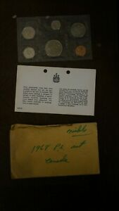 1968 CANADIAN PROOF SET 6 COINS
