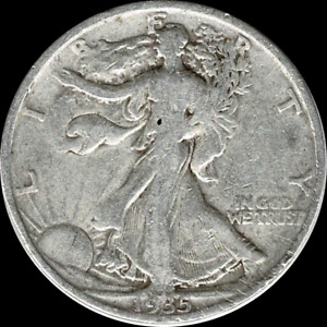A 1935 P WALKING LIBERTY HALF DOLLAR 90  SILVER US MINT  EXACT COIN SHOWN  288