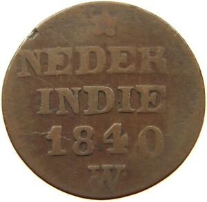 NETHERLANDS EAST INDIES CENT 1840 A16 181