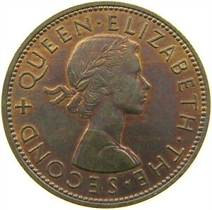 NEW ZEALAND PENNY 1959 TOP S21 869