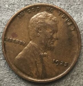 1925 P  LINCOLN WHEAT CENT PENNY   BETTER GRADE   FREE SHIP. B871
