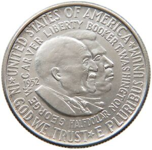 UNITED STATES HALF DOLLAR 1952 CARVER A20 317
