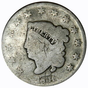 1831 LARGE CENT   VISIBLE DATE  PRICED RIGHT