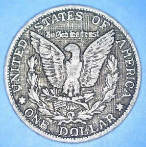 1893 SMALL OLD ALUMINUM GAME COUNTER TOKEN   STYLED AS MORGAN DOLLAR    68094176