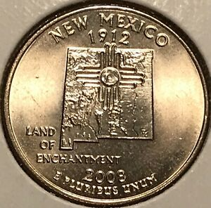 2008 D NEW MEXICO WASHINGTON QUARTER