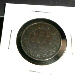 CANADA 1876 H LARGE CENT COIN