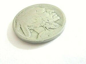1916 D  BUFFALO NICKEL 5 CENTS       CANCEL                       P42