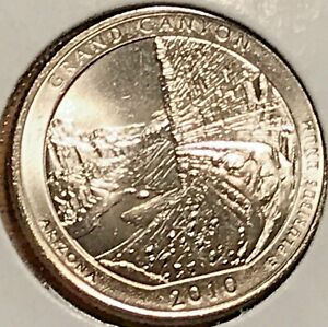 2010 P GRAND CANYON WASHINGTON QUARTER FROM UNCIRCULATED ROLL