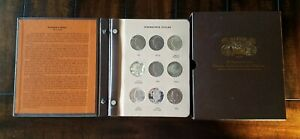 DANSCO 8176 EISENHOWER DOLLARS  1971 1978  32 COIN SET W/ PD S PROOFS & SILVER