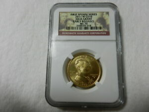 2011 W JULIA GRANT FIRST SPOUSE 1/2 OZ GOLD NGC MS70 EARLY RELEASE ONLY 209