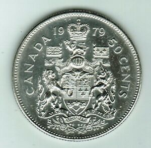 1979   50 CENTS  NICE  COIN STRONG AND CLEAR STRIKE