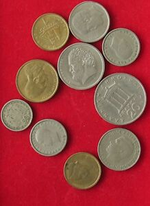 COLLECTION LOT GREECE 10PC 56GR XX21 081