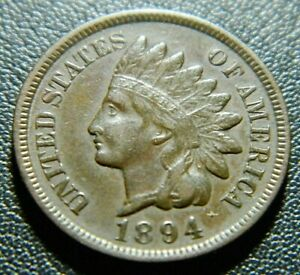 1894 INDIAN CENT 600