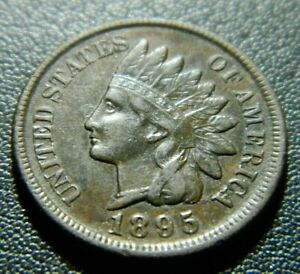 1895 INDIAN CENT 601