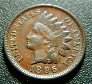 1896 INDIAN CENT 602