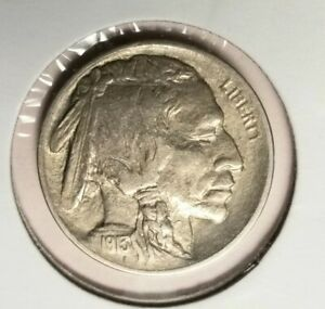1913 P BUFFALO NICKEL VAR.1  ABOUT UNCIRCULATED CONDITION   FIRST YEAR ISSUE