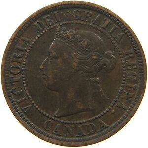 CANADA LARGE CENT 1876 H T73 355