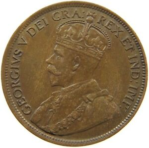 CANADA LARGE CENT 1918 TOP T73 357