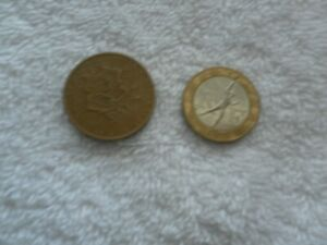 FRANCE SET OF 2 COINS 1978 10 FRANC & 1988 10 FRANCS  QUALITY COINS