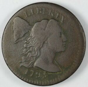 1795 LIBERTY CAP CENT S 78