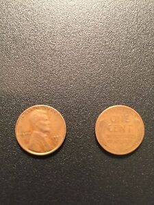 1953 S ROLL LINCOLN WHEAT HEAD ONE CENT PENNY 1C  CIRCULATED    50 COINS