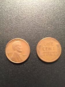 1947 S ROLL LINCOLN WHEAT HEAD ONE CENT PENNY 1C  CIRCULATED    ONLY 48 COINS