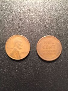 1944 S ROLL LINCOLN WHEAT HEAD ONE CENT PENNY 1C  CIRCULATED    50 COINS
