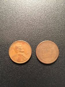 1945 S ROLL LINCOLN WHEAT HEAD ONE CENT PENNY 1C  CIRCULATED    50 COINS