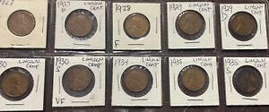 1936 1942 S LINCOLN CENT MIXED LOT