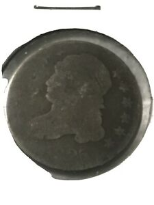 CAPPED BUST DIME 1825   AG CONDITION