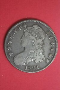 1831 CAPPED BUST LIBERTY HALF DOLLAR EXACT COIN SHOWN FLAT RATE SHIPPING OCE 35
